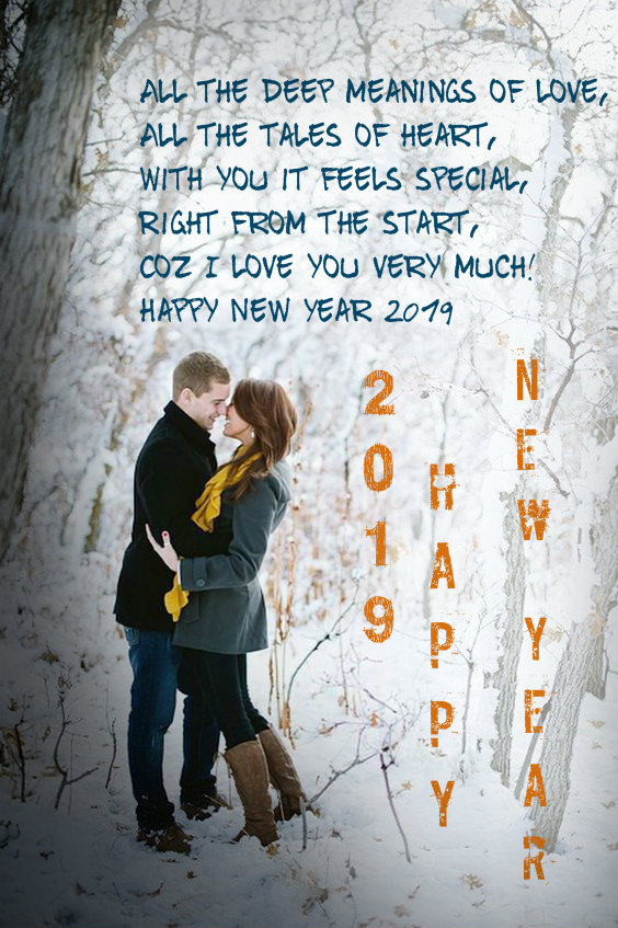 Happy New Year 2019 Love Quotes For Him Quotes Hil